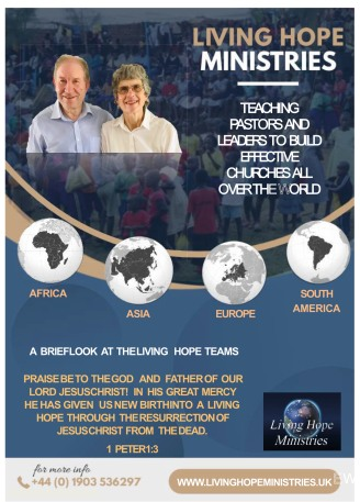 Living Hope Magazine - Click here for online PDF copy